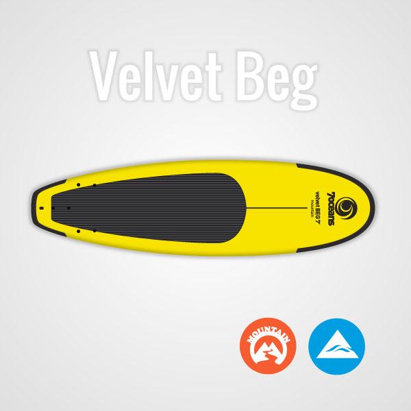 Velvet BEG Softboard